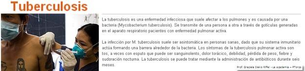 ¿Qué es y cómo se transmite la tuberculosis?